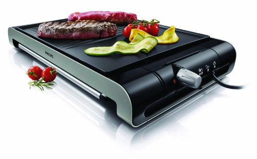 Philips HD4419/20 - Plancha de Asar, 2300 W, Doble superficie,...