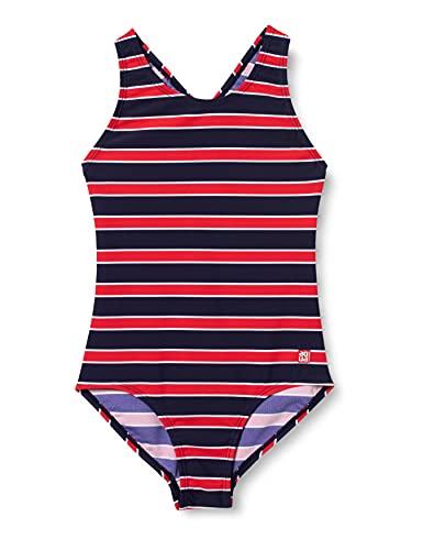 Schiesser Mädchen Badeanzug, rot, 152