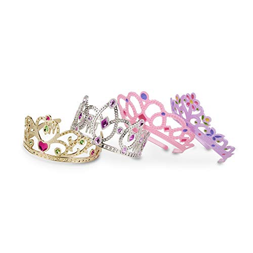Melissa & Doug Role-Play Collection Crown Jewels Tiaras
