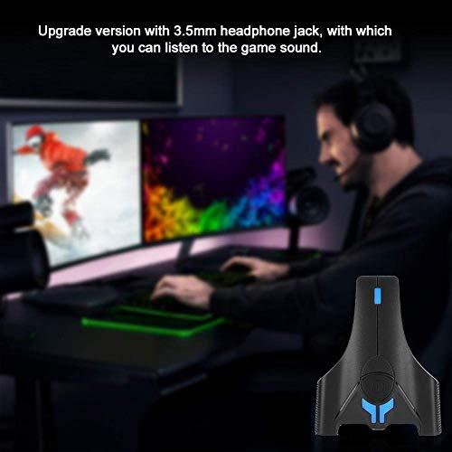 W-HUAJIA Gaming-Tastatur-Mausadapter und -umrichter, PG-NS0930 Tastatur- und Mausadapter/Gaming-Controller für PC / PS4 / Xbox One / PS3 / für Nintendo-Switch-Spielkonsole