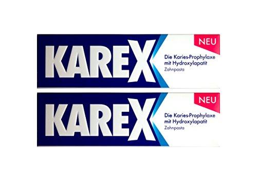 2x KAREX Zahnpasta 75ml PZN: 12607977 Zahncreme