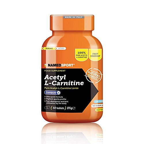 Named 14257 Sport Acetyl L-Carnitine 60 Cpr - 80 Gr