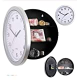 Creative Wall Clock Silent Design Secret Concealment Wall Storage Decoration Modern Home Office Safe Hidden Money/Jewelry/Watch