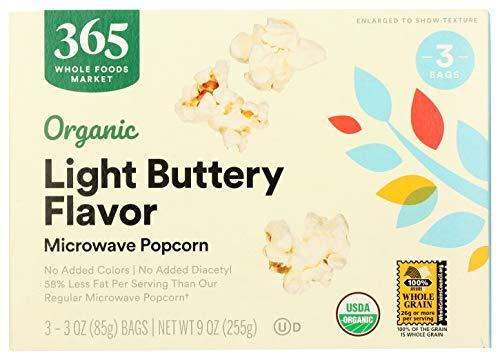 Organic Microwave Light Butter Popcorn