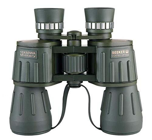 ZTYD verrekijker 10 × 50 voor volwassenen, super groothoekhoekig met HD oculair telescoop dakprisma FMC gecoat dakprisma voor concertreizen
