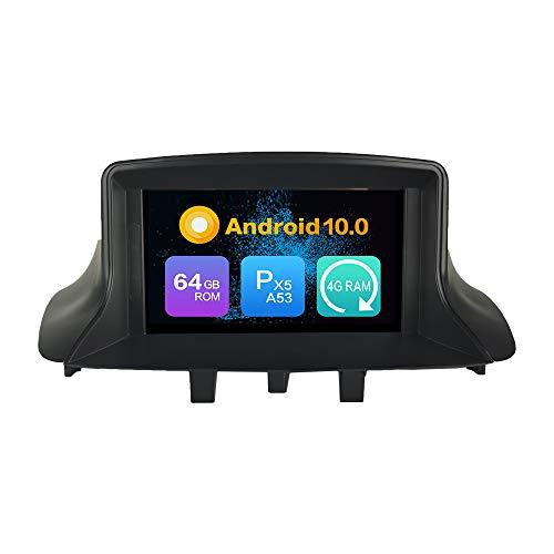 Android 9.0 Estéreo DVD Ram 4G 64G ROM Autorradio GPS Navegación Radio porRenault Megane3 (2009-2016)