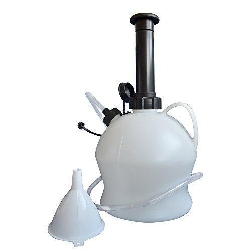 Hyfive Kit de Bomba extractora de Aceite Aceite de Servicio de Coche y Extractor de la Bomba de Transferencia de líquido 4L