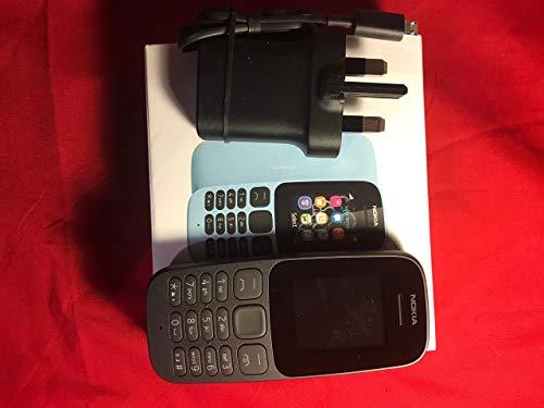 Nokia 105 UK Sim-Free Mobile Phone - Black