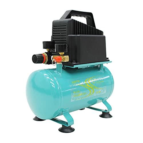 ナカトミ オイルレス エアーコンプレッサー 静音タイプ (容量6L/100v) 静音タイプ 小型 軽量 持ち運び 横型 100v エアー工具 塗装 家庭用 業務用 CP100 i001