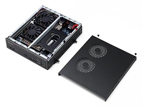 Shuttle XPC Slim XH110 Mini Barebone PC Intel H110 LGA 1151 Kabylake//Skylake Include Heatpipe Cooling Module No CPU No Ram No HDD//SSD No OS