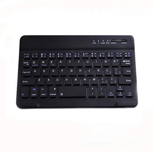 HRNAKDFKL Teclado inalámbrico con Touchpad teclado Bluetooth recargable 9,7/10 pulgadas 59 teclas disposición italiana QWERTY compatible con Windows, Android (a partir de 4.0), iOS