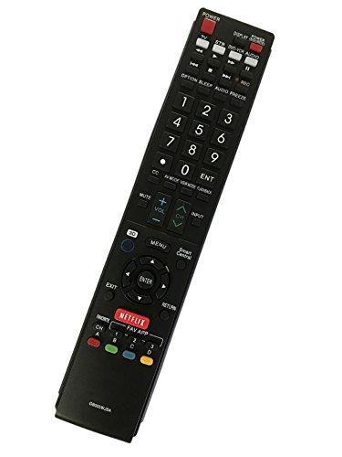 Replacement Remote Controller for LC-60LE847U LC-80LE757 LC-90LE745 LC-90LE657U Sharp Aquos Smart LED 3D HDTV