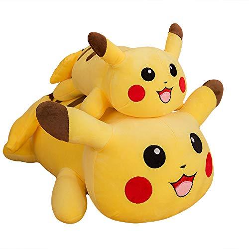 XQYPYL Plüsch Spielzeug Pikachu Weiches Puppe Kissen Geburtstag Geschenk 40cm-90cm,Yellow,40cm