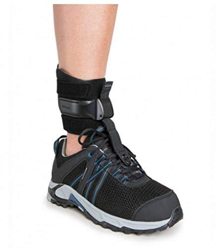 Össur Rebound Foot Up Steppergang Fußbandage | Schwarz | Größe L/XL | Knöchelbandage für Steppergang und schwache Fußheber | Knöchelumfang 26 - 33cm