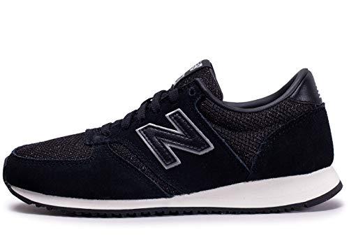 New Balance Damen 420 Sneaker, Schwarz (Black), 35 EU