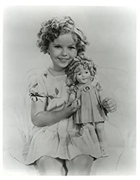 Gatsbe Exchange Old Tin Sign Shirley Temple with A Doll Celebrity Hollywood Stars of The Past Made in The USA by Mostly Art Struff