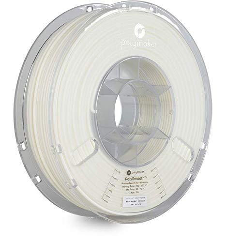 Polymaker 1612101 76938 Filament 2.85 mm 750 g Blanc PolySmooth