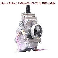 prasku 145mmキャブレターに購入TM24mmミクニTM24-8001フラットスライドキャブレターCWRS SPY50