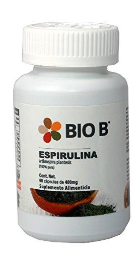 Bio B 60 cápsulas Espirulina