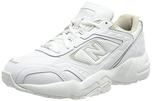 New Balance WX452V1, Zapatillas Deportivas Mujer, White', 40.5 EU