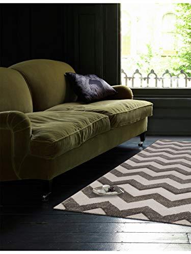 benuta Tapis Nagual Marron 120 x 170 cm | Tapis Moderne pour Salon et Chambre à Coucher