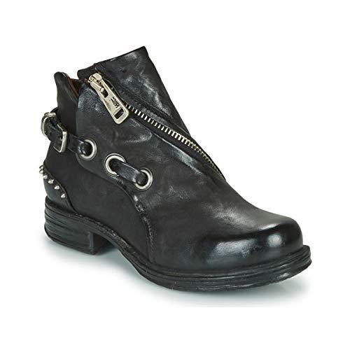 airstep / a.s.98 Saint Ec Clou Stiefelletten/Boots Damen Schwarz - 39 - Boots Shoes