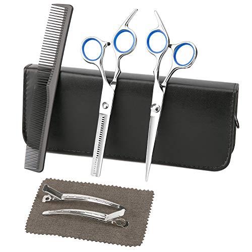 Luxebell Haarscheren Friseurscheren Set Professionelle Hoch Qualität mit Kamm für Männer und Frauen den Hausgebrauch Salon