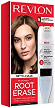 Revlon Root Erase Permanent Hair Color, Root Touchup Hair Dye, 100% Gray Coverage, 5 Medium Brown, 3.2 oz