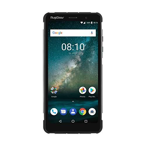 RugGear RG850 Robustes Outdoor Handy ohne Vertrag - Wasserdicht, Stoßfest, Slim, 6'' Corning-Gorilla Glas Bildschirm, Android 8.1 Oreo, Dual-SIM