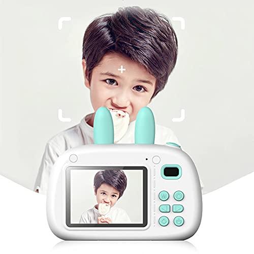 Conejo niños cámara digital mini juguetes educativos para niños niñas USB 1080 p foto video videocámara con tarjeta 16G TF
