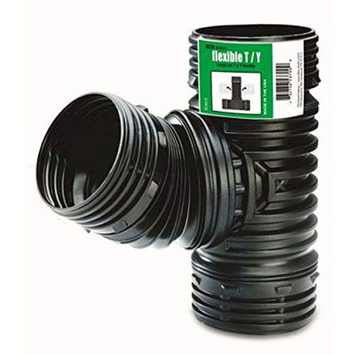 AMERIMAX HOME PRODUCTS - Flex Drain Wye Or Tee Fitting, Black