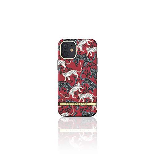 Richmond & Finch Diseñada para iPhone 12 Mini 5.4 Fundas, Rojo Leopardo Fundas para iPhone 12 Mini 5.4