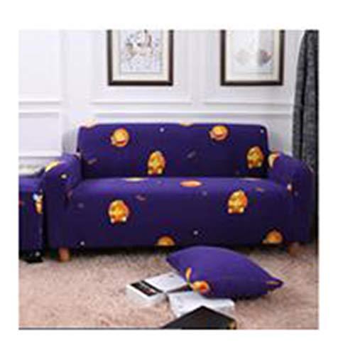 DaiHan Tejido elástico Estampado Universal Funda de sofá sofá Todo Incluido cojín Cubierta Completa Toalla de sofá Cubierta de sofá Cuatro Estaciones AsPic17 4Seat(235-300cm)