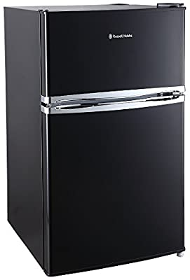 Russel Hobbs Wide Under Counter Freestanding Fridge Freezer, 50 cm