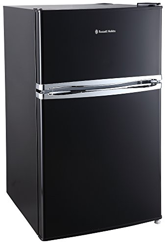 Russell Hobbs RHUCFF50B 50cm Wide Black Under Counter Fridge Freezer