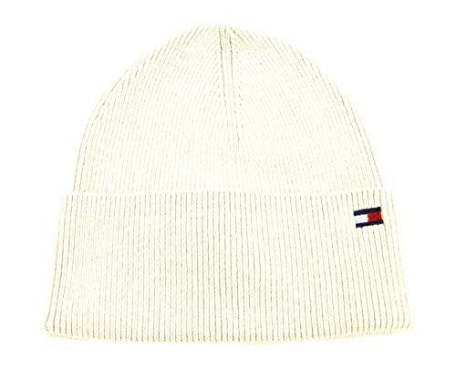Tommy Hilfiger Damen Essential Knit Beanie Hut, Haferflocken, OS