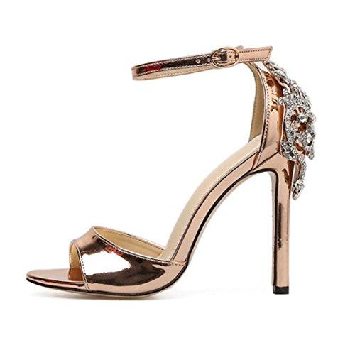 Sandalias Tacón Alto de Vestir para Mujer, QinMM Zapatos de Baño Chanclas Verano de Playa Fiesta