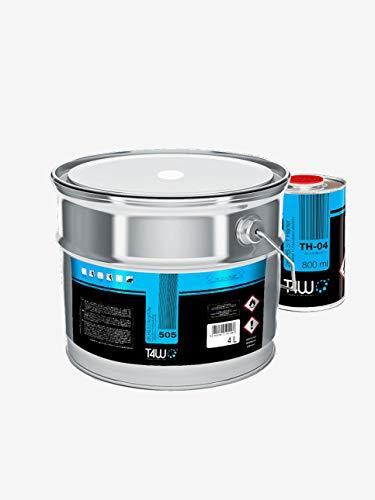 T4W 505 Acryl Füller Grundierung 5:1 Weiss - 4,0 Liter + Härter 0,8 Liter (59039)
