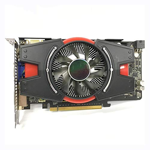 QINGMEI Graphics Fan Fit for ASUS Graphics Card GTX 550 Ti 1GB 192Bit GDDR5 Video Cards for NVIDIA Geforce GTX 550Ti Used VGA Cards Equivalent GTX650 Graphics Card Game Graphics Card