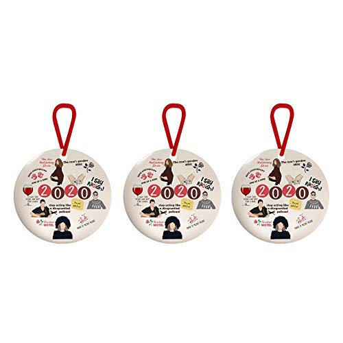 Decoration & Hangs, 2020 Ornaments, Unique Hanging Ornament for Remembering 2020 Ornament Year, for Christmas Home & Garden Ornament (B)
