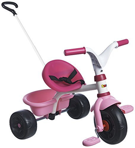 Smoby - 444232 - Tricycle - Be Fun Mixte - Rose
