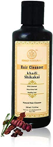 Khadi Natural Herbal Shikakai Cleanser (Shampoo), 210ml