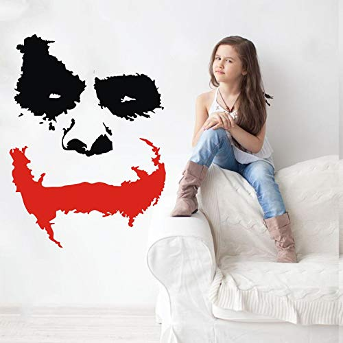 Zhuzhuwen Movie Quotes Muurstickers, Koffie Mountain Joker Gezicht Waarom Zo Ernstig: De Duistere Ridder Wvinylpvc, Familie Vakantie Decorationshome Decor Vinyl