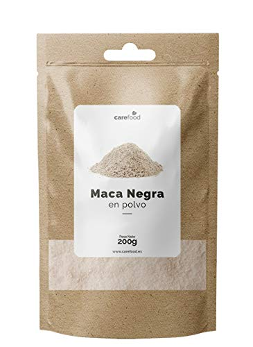 carefood Maca Negra en Polvo Pura Orgánica - 200 G