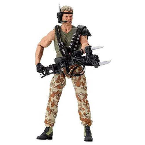 Modelo De Animealiens Space Marine Soldier Drake Kenner Figura De Acción Modelo Juguetes Muñeca Regalo 18Cm