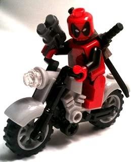 Lego: Marvel - Deadpool Minifigure + Motorcycle