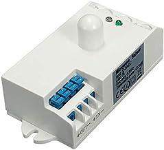 Sensor Module Microwave Radar Sensor Light Switch Body Motion DC 12V-24V 5.8GHz With Shell