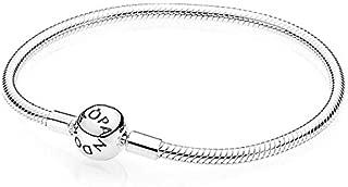 Pandora Women's 925 Sterling Silver Smooth Charm Bracelet - 590728-17