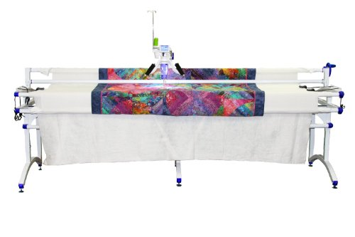 Juki TL2200QVP with Grace Virtuosso King frame mid arm quilting machine