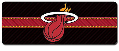 NBA Mouse Pad,Professional Large Gaming Mouse Pad, Classic Pattern Mouse mat,Extended Size Desk Mat Non-Slip Rubber Mouse Mat,Basketball (800 × 300× 2 mm / 31.5 × 11.8 × 0.1 inch, 19)